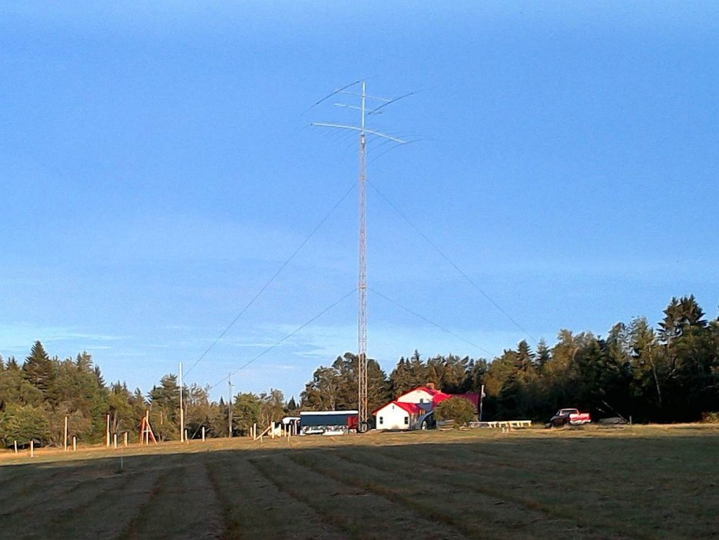 W1LQ remote station in Maine